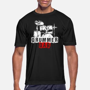 4c1bb4f4 Drummer Dad Drummer Dad Drums Drummer Drumming Gift - Men's Sport T