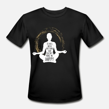 Cool Yoga Spiritual Yoga Spiritual Meditation Saying Cool Gift - Men's Sport T-Shirt