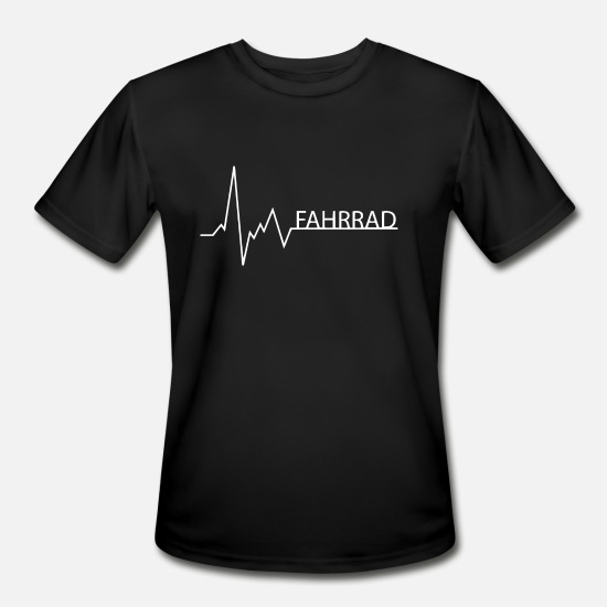 Seller T-Shirts - fahrrad - Men's Sport T-Shirt black