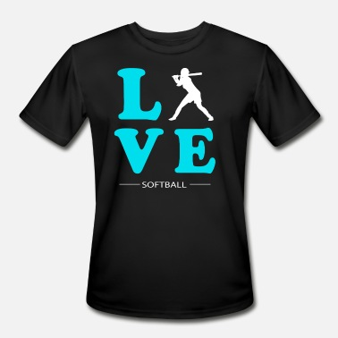 Love Softball SOFTBALL LOVE - Men's Sport T-Shirt