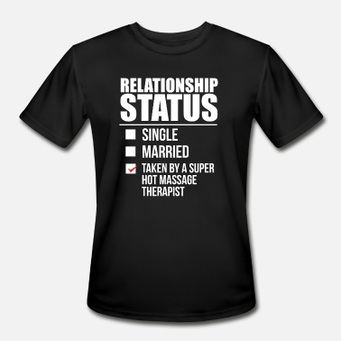 Bae Relationship status taken by super hot Massage - Men's Sport T-Shirt