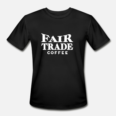 Trade Fair Fair trade coffee - Men's Sport T-Shirt