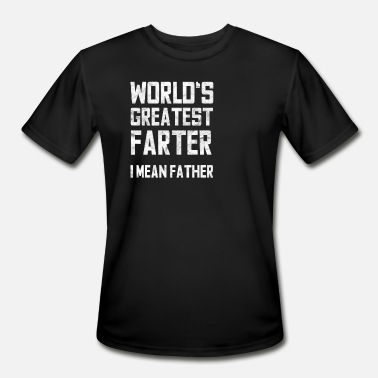 Fart Dad Father Daddy Farting Humor Gift - Men's Sport T-Shirt