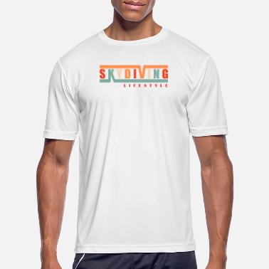Skydiving is a LifeStyle Skydiver Lover Gift - Men's Sport T-Shirt