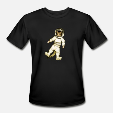 Astronaut Kitty Outer-Space Astronaut Kitty - Men's Sport T-Shirt
