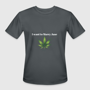 Spiff I want Marry Jane. - Men's Moisture Wicking Performance T-Shirt