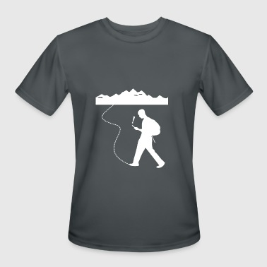 Geo Caching - Men's Moisture Wicking Performance T-Shirt