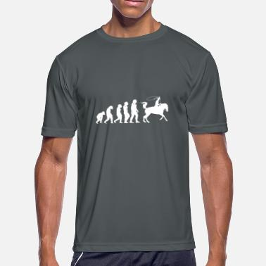 Roped Roping. - Men's Moisture Wicking Performance T-Shirt