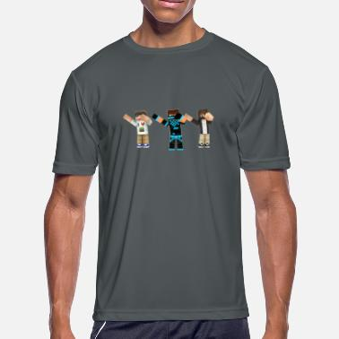 Leafyishere Frosty, Tyler And Unique Dabbing Pack - Men's Moisture Wicking Performance T-Shirt
