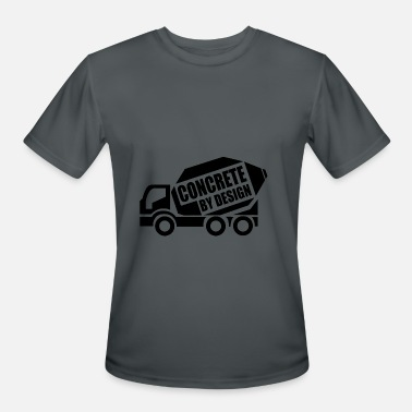 Badass Tough Guy ConcretebyDesign - Men's Moisture Wicking Performance T-Shirt