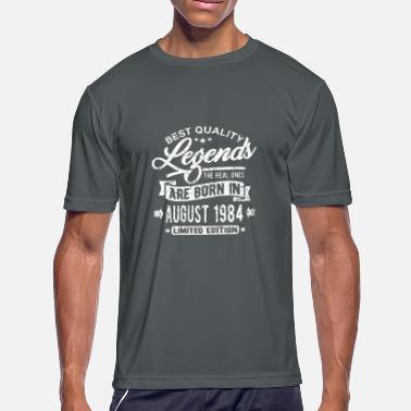 Legends born in august 1984 - Men's Moisture Wicking Performance T-Shirt