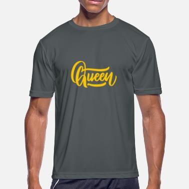 Queen Of The Nerds Queen - Men's Moisture Wicking Performance T-Shirt
