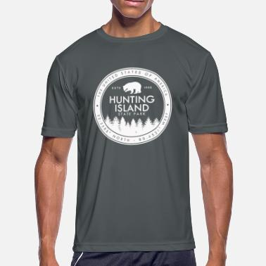 South Island Hunting Island State Park South Carolina SC - Men's Moisture Wicking Performance T-Shirt
