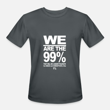 Anti Wall Street WE ARE THE 99 T SHIRT OCCUPY WALL STREET ANTI COR - Men's Sport T-Shirt