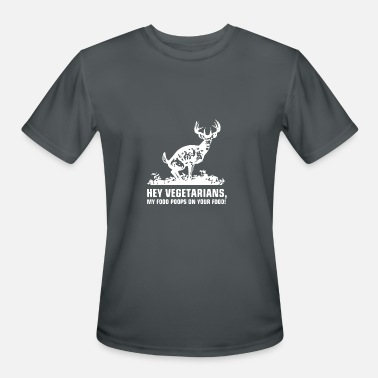 Poop Wear Buck Wear Food Poops - Men's Moisture Wicking Performance T-Shirt