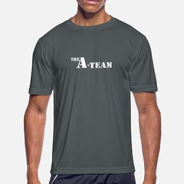 Team Awesome The A TEAM - Men's Moisture Wicking Performance T-Shirt