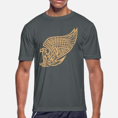 Eagle Tattoo Eagle tattoo style - Men's Moisture Wicking Performance T-Shirt