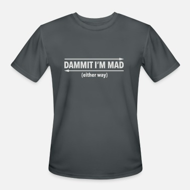 Palindrome Dammit Palindrome - Men's Sport T-Shirt