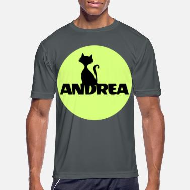 Andrea Andrea First name Names gifts Christening gif - Men's Sport T-Shirt