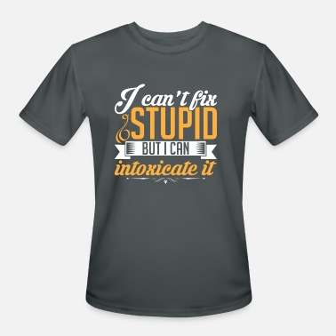 Intoxicated Intoxicate stupit - Men's Sport T-Shirt