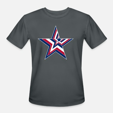 Big Stars USA Stars and Stripes Design - Big Star - Men's Sport T-Shirt