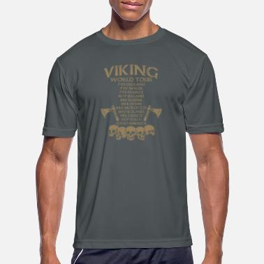 Norway Viking - VIKINGS - THE VIKING WORLD TOUR - Men's Sport T-Shirt