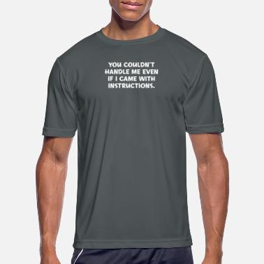 Instructions Instructions - Men's Sport T-Shirt