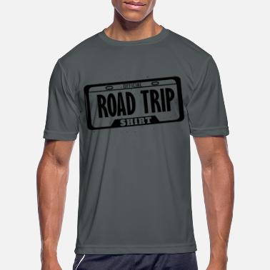 License Official Road Trip Shirt License Plate - Men's Sport T-Shirt