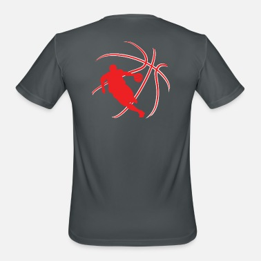 B Ball B-ball player - Men's Sport T-Shirt