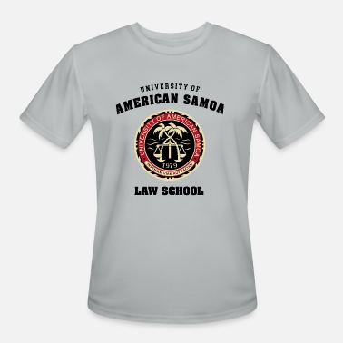 Mcgill University of American Samoa Law School - Men's Moisture Wicking Performance T-Shirt