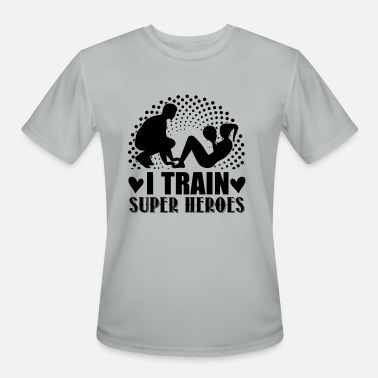 Personal Training Personal Trainers Train Heroes Shirt - Men's Moisture Wicking Performance T-Shirt