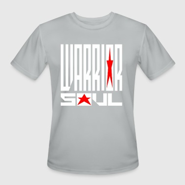 Warrior soul logo for Black t shirt - Men's Moisture Wicking Performance T-Shirt