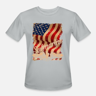 Submarine Submarine Flag Shirt - Men's Sport T-Shirt