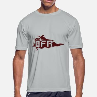 Rip Out Out for a Rip (OFR) RED - Men's Moisture Wicking Performance T-Shirt