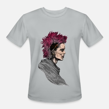 Punk-girl punk girl - Men's Moisture Wicking Performance T-Shirt