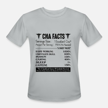 Cna Funny CNA Shirt - CNA Facts Funny T shirt - Men's Moisture Wicking Performance T-Shirt