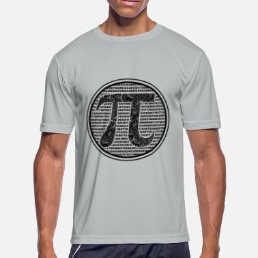 Pi Number Pi Day Shirt - The Pi Day Number T shirt - Men's Moisture Wicking Performance T-Shirt