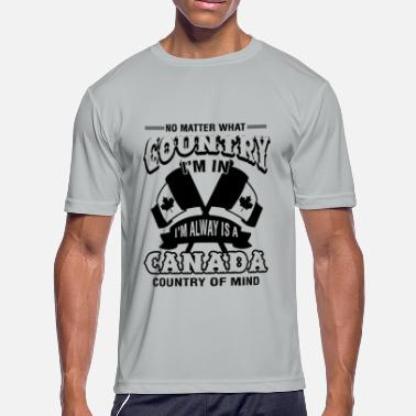 Canada Country Canada Country Of Mind Shirt - Men's Moisture Wicking Performance T-Shirt