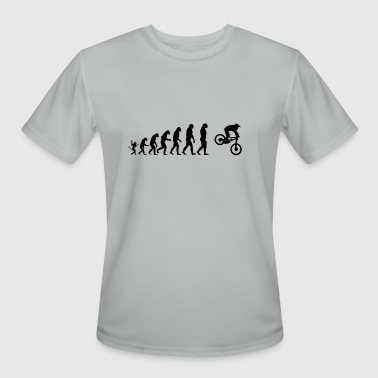 Biker Evolution Chopper Biker Evolution - Men's Moisture Wicking Performance T-Shirt