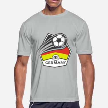 Borussia Dortmund Germany Football - Men's Moisture Wicking Performance T-Shirt