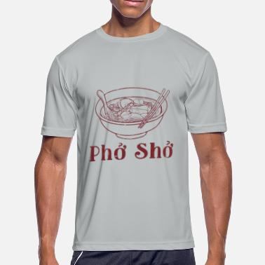 Pho Funny pho pho funny - Men's Moisture Wicking Performance T-Shirt