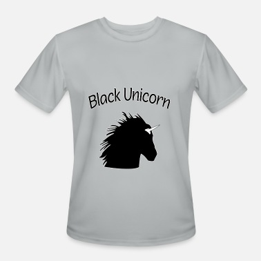Black Unicorn Black Unicorn for Black Queens and Feminists - Men's Moisture Wicking Performance T-Shirt