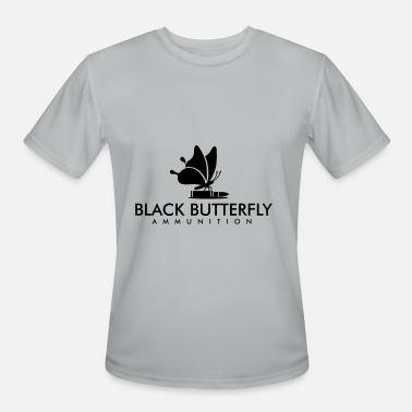 Black Butterfly Black Butterfly Ammo Logo in Black - Men's Sport T-Shirt
