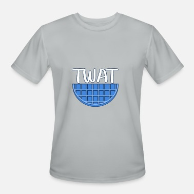 Blue Waffle Blue Twat Waffle - Men's Moisture Wicking Performance T-Shirt