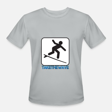 No Wave wave - Men's Moisture Wicking Performance T-Shirt