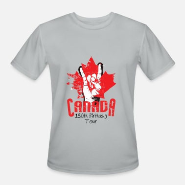 Canada Rocks Canada 150 - Rock T - Men's Moisture Wicking Performance T-Shirt