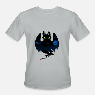 Dragon Trainer dragon - Men's Moisture Wicking Performance T-Shirt