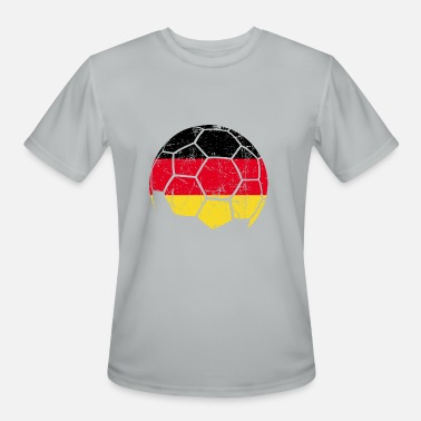 Germany Soccer Germany Soccer Football Ball - Men's Moisture Wicking Performance T-Shirt