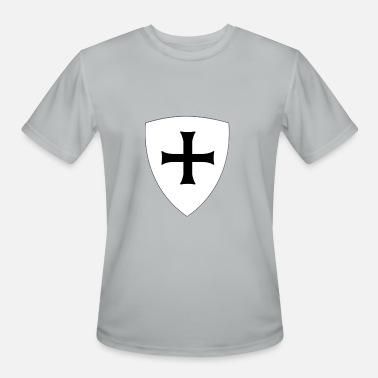 Teuton Teutonic cross - Men's Moisture Wicking Performance T-Shirt