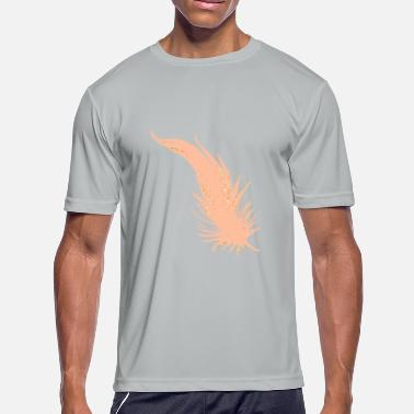Feathered Animal Feather - Men's Moisture Wicking Performance T-Shirt